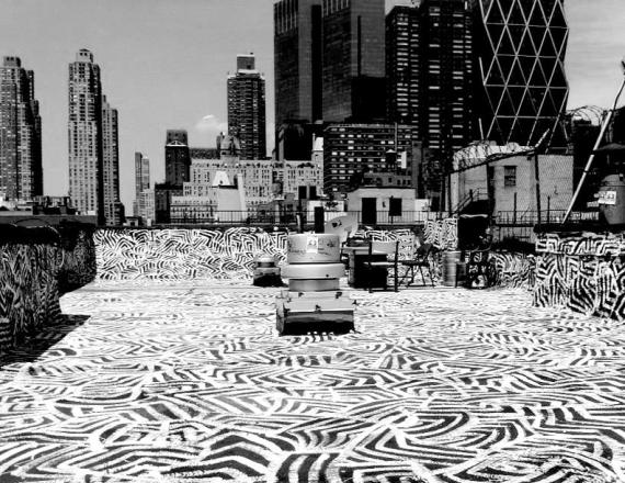 HK52 Rooftop Mural