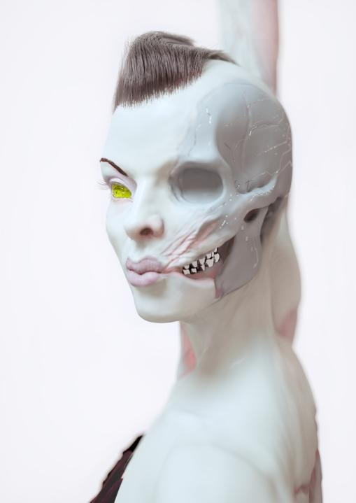 Zombierina.01 2013 pigmentprint 83 x 63 cm
